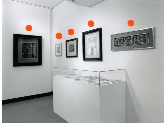 E. L. T. MESSENS Installation View