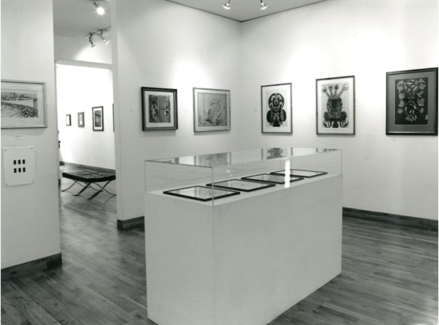 WORKS ON PAPER Installation View