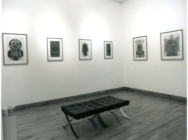 TWO OUTSIDERS Installation View