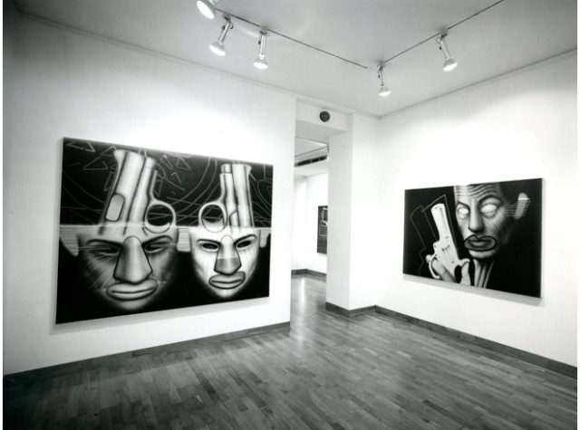 ED PASCHKE Installation View
