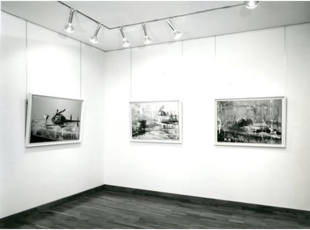 TONY SCHERMAN Installation View
