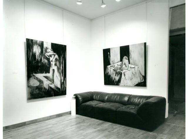 TONY SCHERMAN Installation View