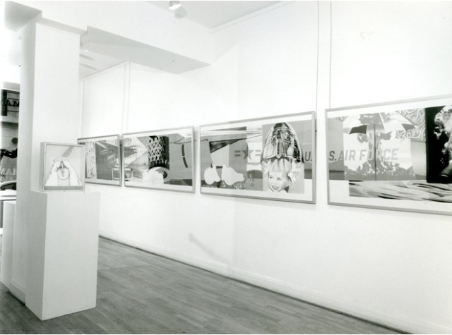 NINE WORKS OF ART Installation View