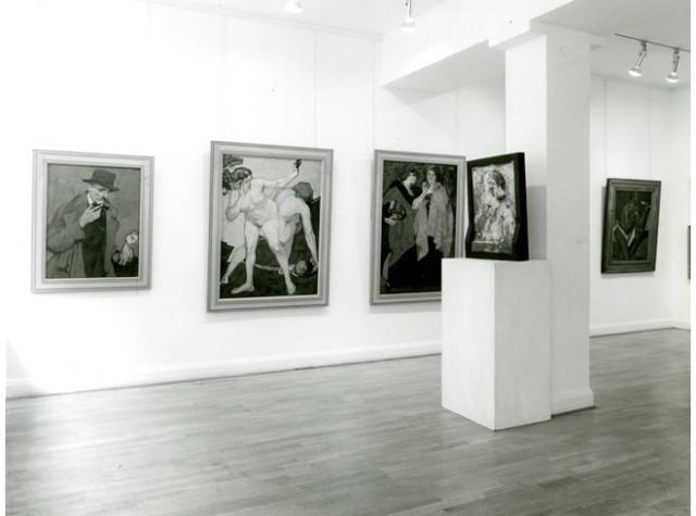 ALFRED WOLMARK Installation View