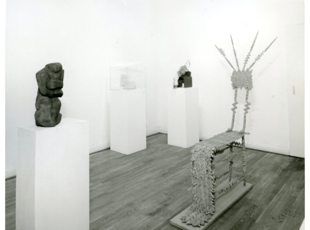 SCULPTURE THEN AND NOW Installation View