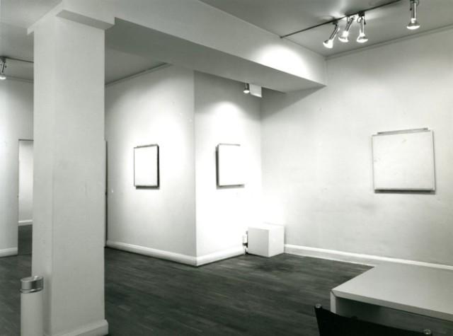 ROBERT RYMAN Installation View