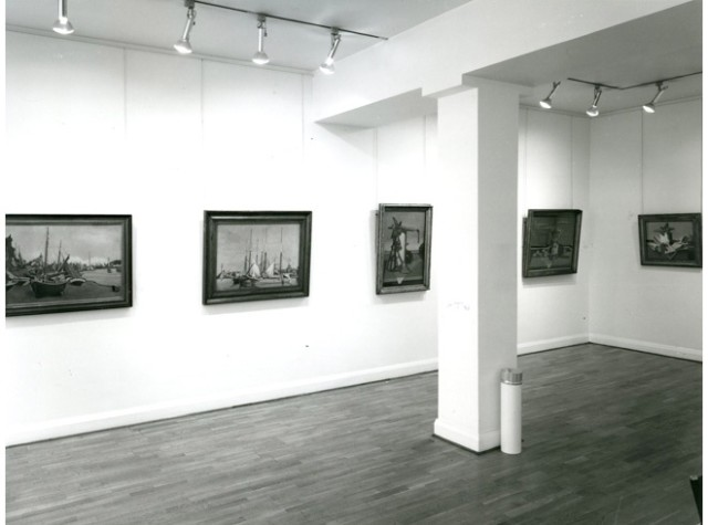EDWARD WADSWORTH Installation View