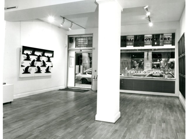 ROGER BROWN Installation View