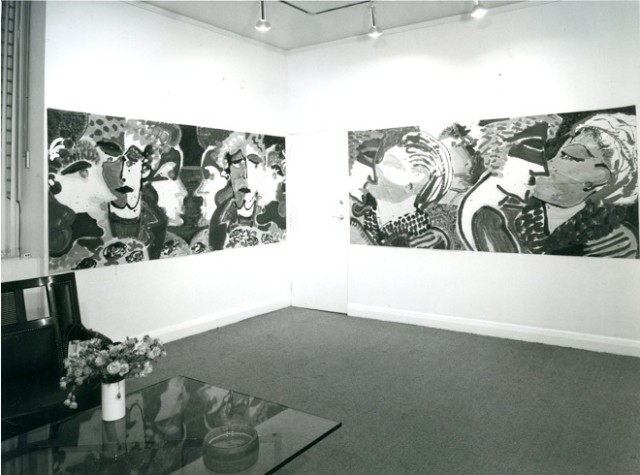 ROBERT KUSHNER & KIM MCCONNEL Installation View