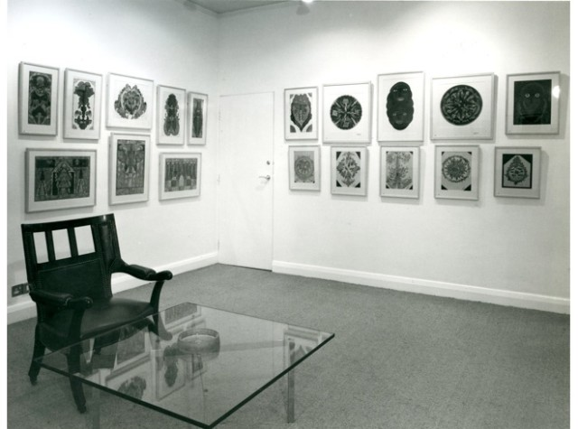 THE PENROSE COLLECTION OF WORKS BY SCOTTIE WILSON Installation View