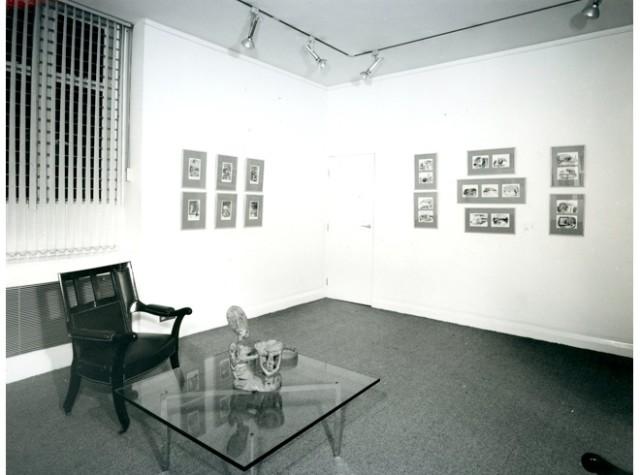 EDWARD ARDIZZONE Installation View