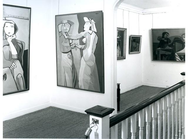 ROBERT COLQUHOUN & ROBERT MACBRYDE Installation View