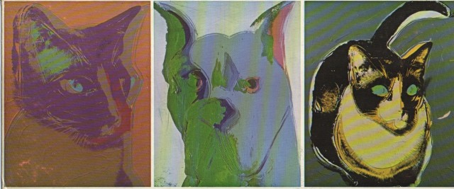 ANDY WARHOL, Cats & Dogs