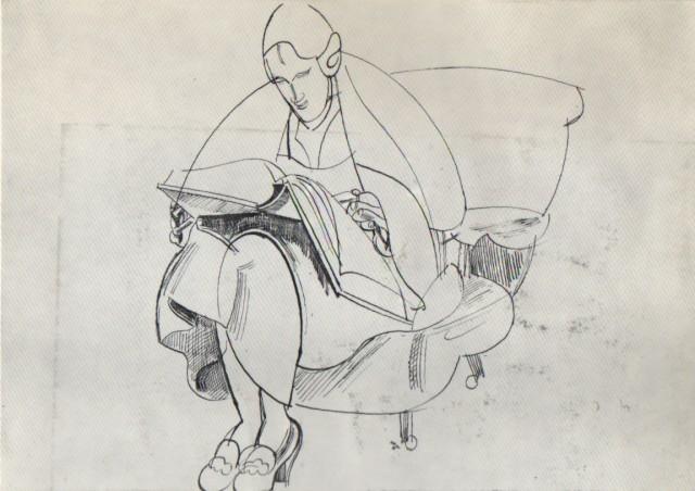 WYNDHAM LEWIS, Paintings and Drawings