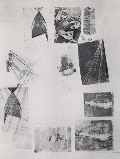 ROBERT RAUCSHENBERG, Recent Combine Drawing