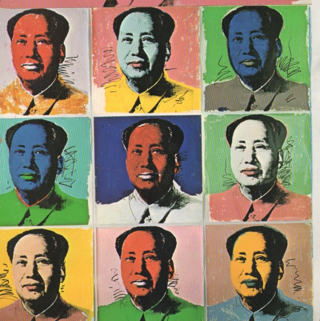 ANDY WARHOL, Chairman Mao, David Bailey Photographs