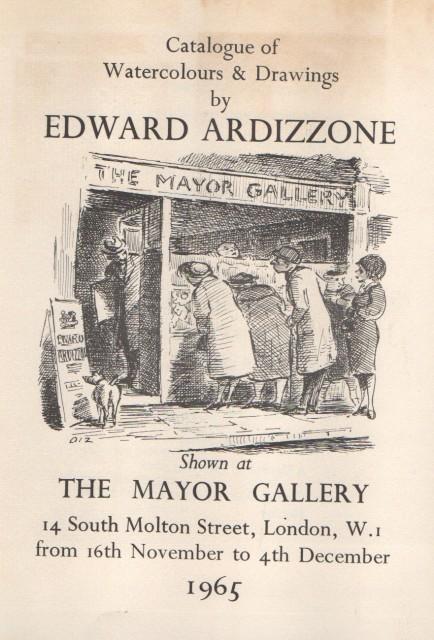 EDWARD ARDIZZONE , Watercolours and Drawings