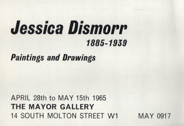 JESSICA DISMORR , Paintings and Drawings