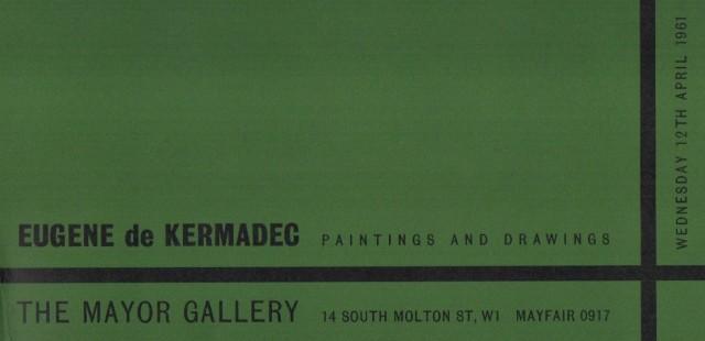 EUGENE DE KERMADEC , Paintings and Drawings