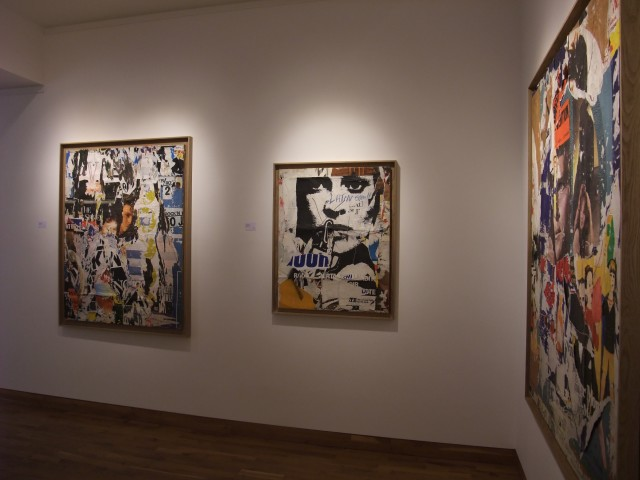 MIMMO ROTELLA & JACQUES VILLEGLÉ Installation View