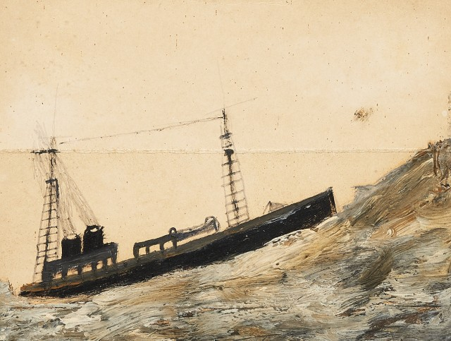 BRITISH ART FAIR, Alfred Wallis (1855-1942) from The Collection of the Late Ray Hughes (1946 – 2017)