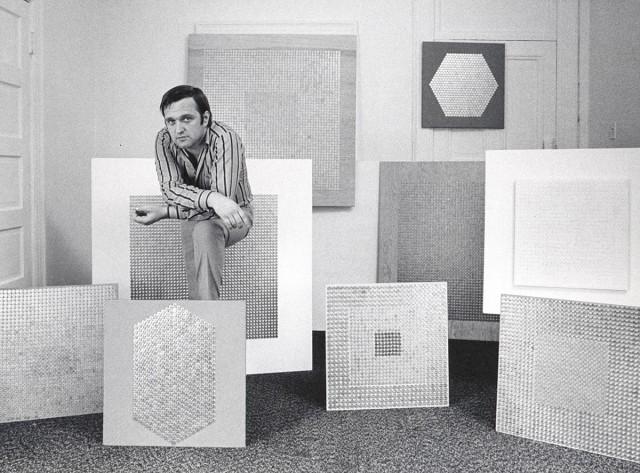 Jan Henderikse at the Chelsea Hotel, New York, 1969