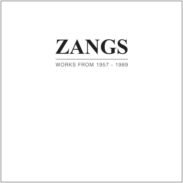 HERBERT ZANGS, WORKS FROM 1957 - 1989