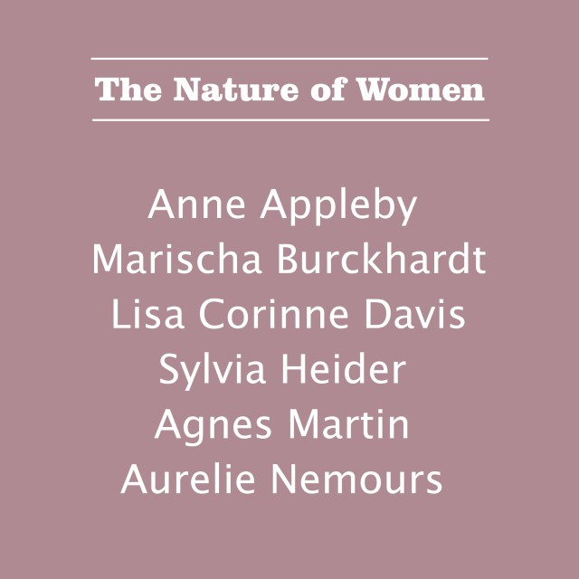 THE NATURE OF WOMEN, SIX WOMEN ARTISTS