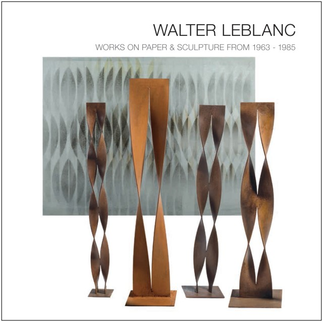 WALTER LEBLANC WORKS ON PAPER & SCULPTURE