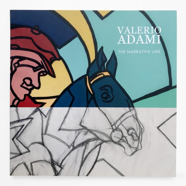VALERIO ADAMI, THE NARRATIVE LINE