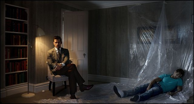Kill Yourself To Get Ahead (Starring David Gandy), 2013, C-Print, 147.3 x 81.6 cm