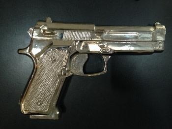 Shelter Serra, Fake Gun, 2014