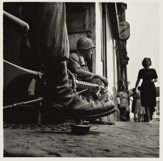 Don McCullin Near Checkpoint Charlie, Berlin 1961 Tate Purchased 2012 © Don McCullin