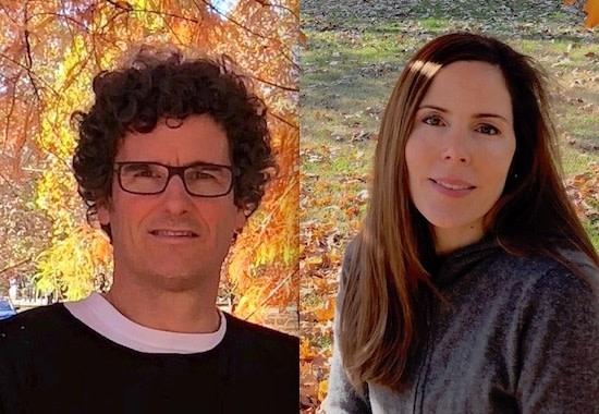 Dean Bensen and Demetra Theofanous