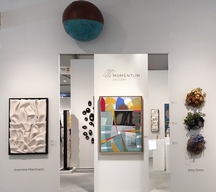 Momentum Gallery at Art Wynwood 2018, Booth #AW 222