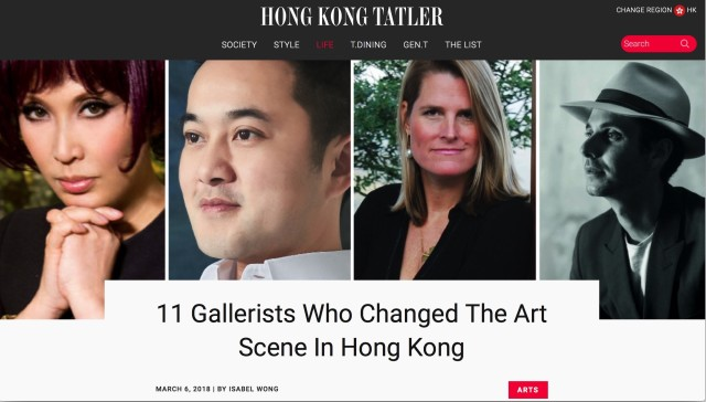 11 Gallerists Who Changed The Art Scene In Hong Kong