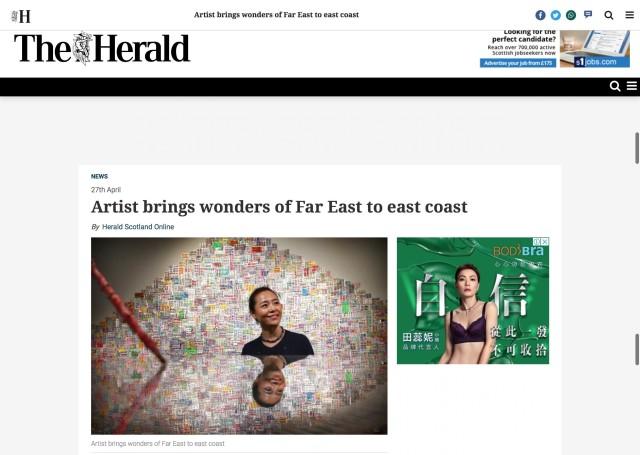 Artist brings wonders of Far East to east coast