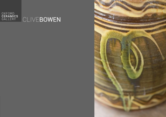 CLIVE & DYLAN BOWEN / JOINT EXHIBITION