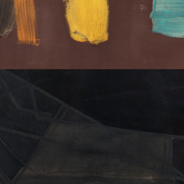 约翰·麦克林(上)和王剑(下)作品局部