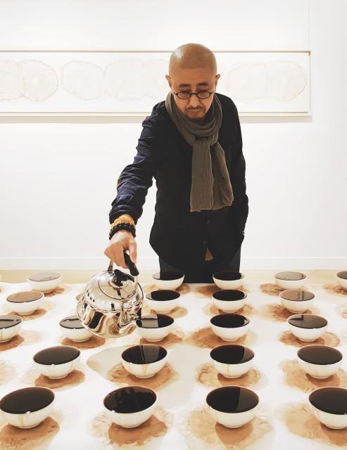 Tea Feeding, Performance installation