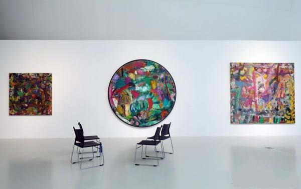 航向边缘:吉莲•艾尔斯的抽象绘画,1979年至今 Sailing off the Edge: Gillian Ayres Abstract Painting 1979 to the present 中央美术学院美术馆,2017 CAFA Art of Museum, 2017