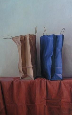 Mario Pavez Paper Bags II