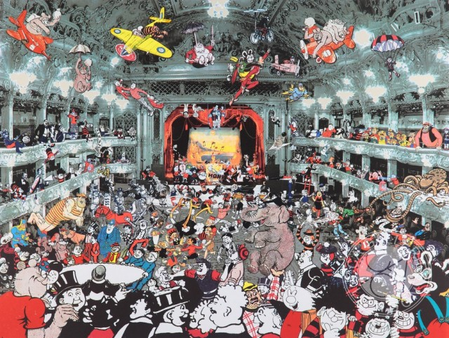 Sir Peter Blake Solo Exhibition