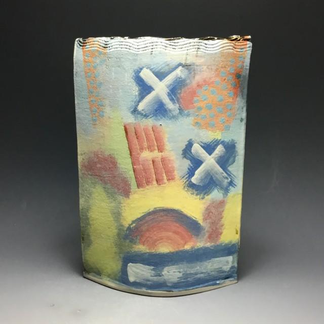 Large Slab Pot by John Pollex