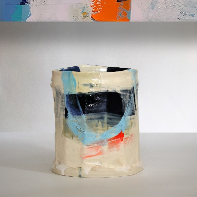 'A Changing View' series vessel by Barry Stedman