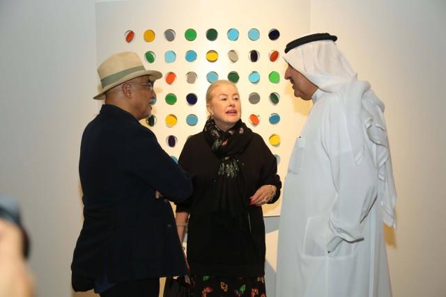 Rashid Al Khalifa and guests