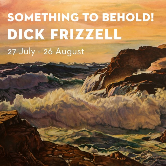Show #15: Something To Behold! by Dick Frizzell