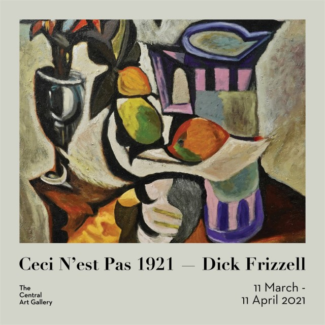 Ceci N'est Pas 1921 by Dick Frizzell