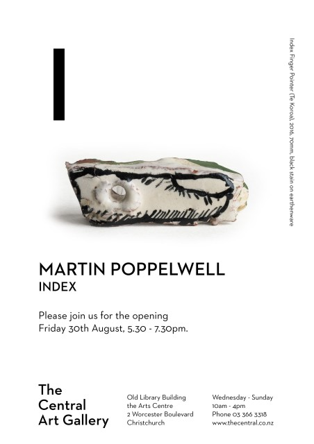 Exhibition Opening: Martin Poppelwell INDEX