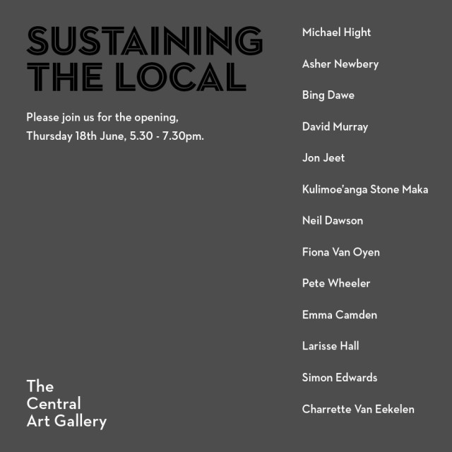 Exhibition Opening | Sustaining the Local